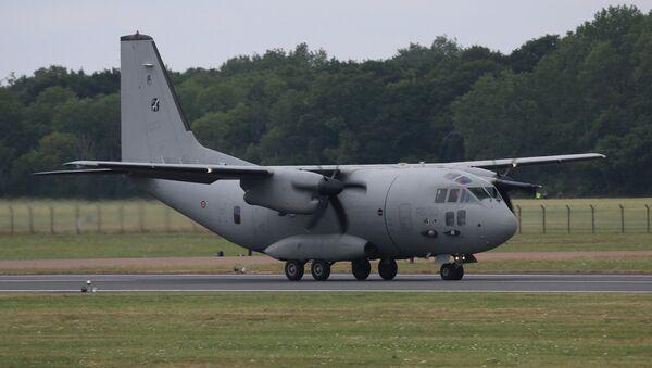 Vojenské nákladní letadlo Spartan - Sputnik Česká republika