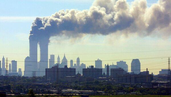 Разрушения в результате теракта 11 сентября в Нью-Йорке - Sputnik Česká republika