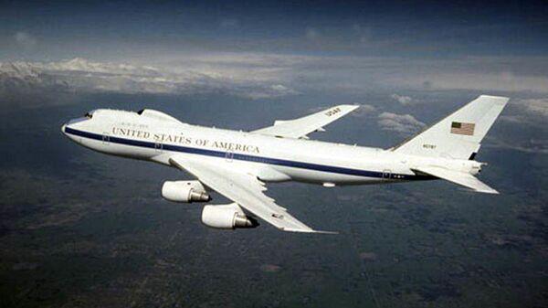 """Boeing E-4B Nightwatch známý jako letoun """"soudného dne"""" - Sputnik Česká republika"""