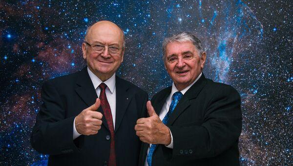 Oldřich Pelčák s Vladimírem Remkem  - Sputnik Česká republika