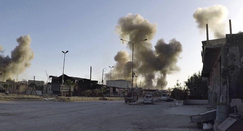 Syrské město Dúma