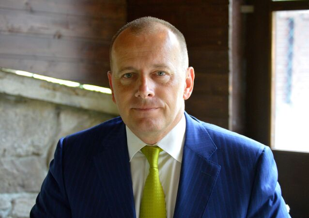 Slovenský politik a podnikatel Boris Kollár