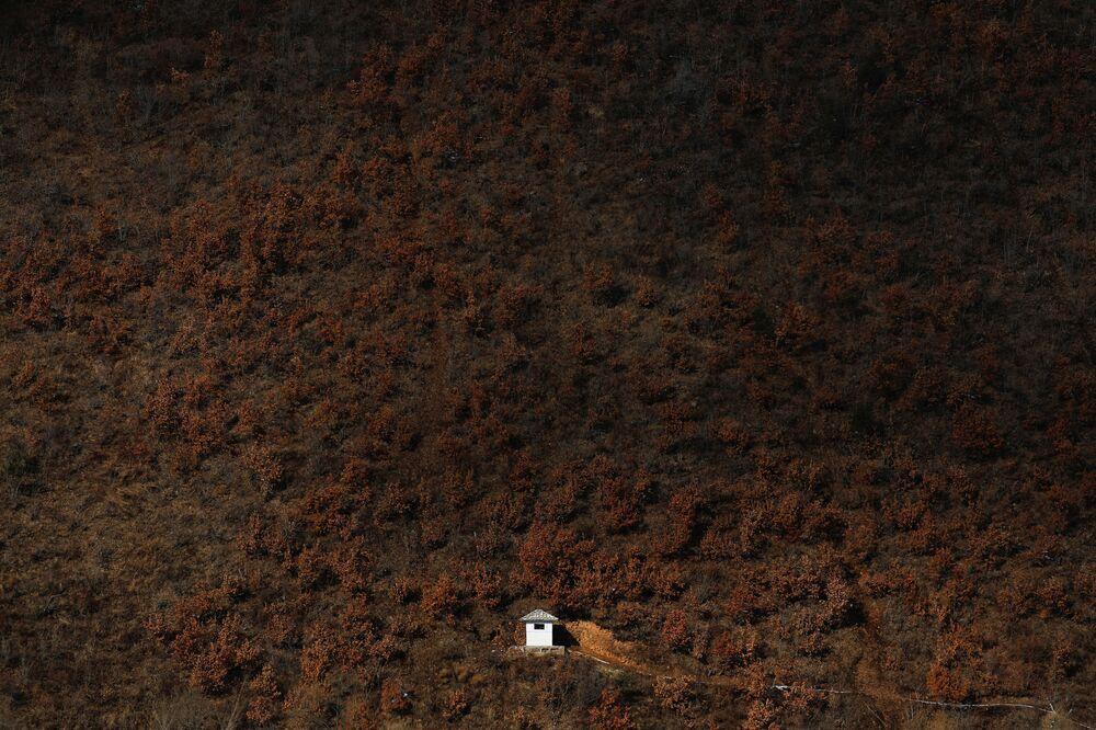 Severní Korea v objektivu dalekohledu