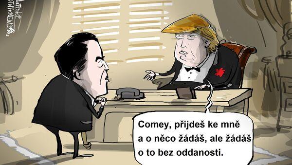 Kmotřenec Trumpa - Sputnik Česká republika