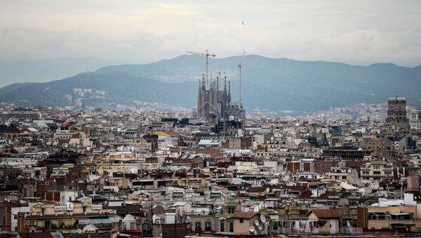 Pohled na Barcelonu - Sputnik Česká republika
