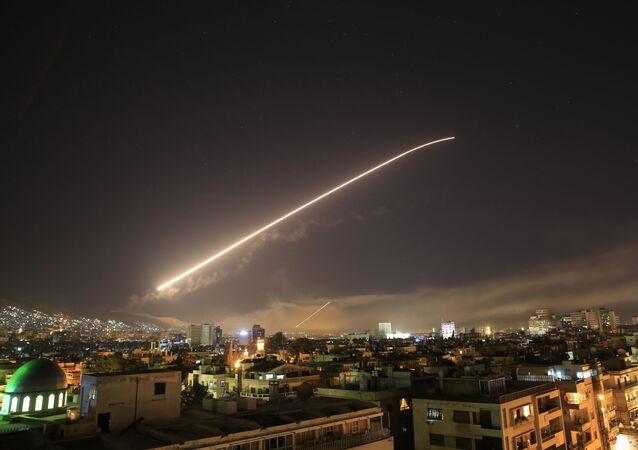 Útok USA a jejich spojenců na Damašek
