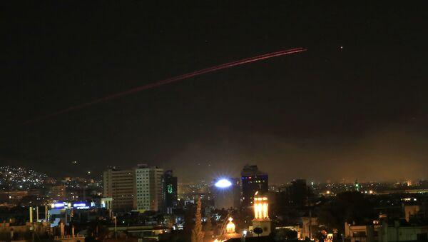Útok USA na Sýrii - Sputnik Česká republika