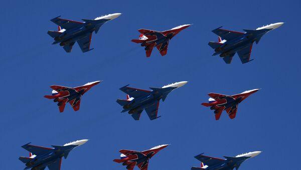 Su-30SM a MiG-29 - Sputnik Česká republika