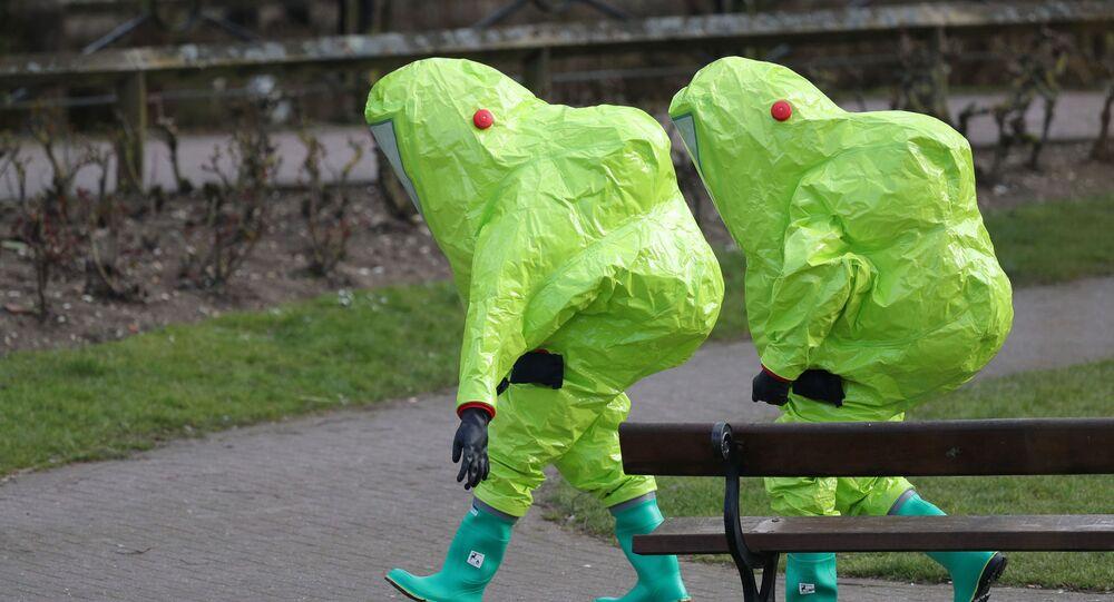 Místo incidentu se Skripalovými v Salisbury