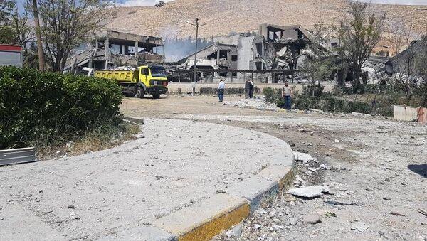 Sýrie po útoku - Sputnik Česká republika