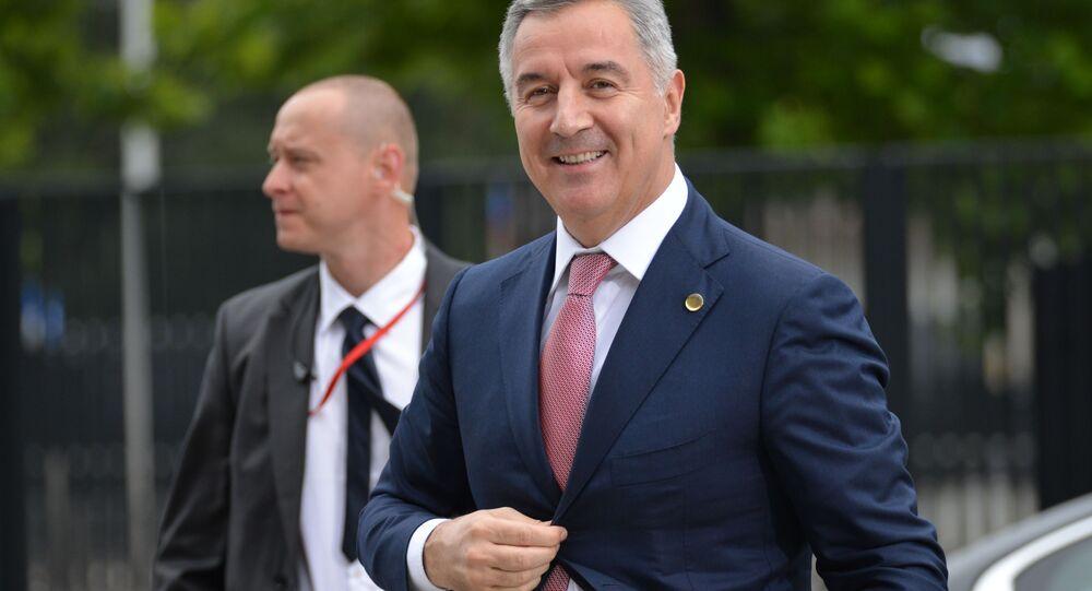 Prezident Černé Hory Milo Djukanovič