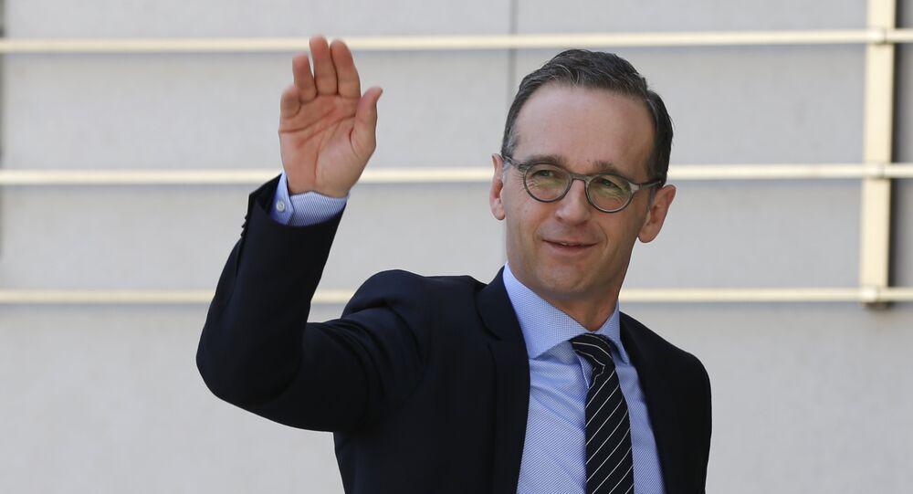 Ministr zahraničí Heiko Maas