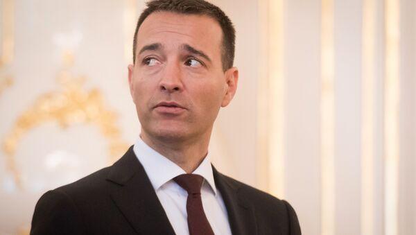 Slovenský ministr vnitra Tomáš Drucker - Sputnik Česká republika