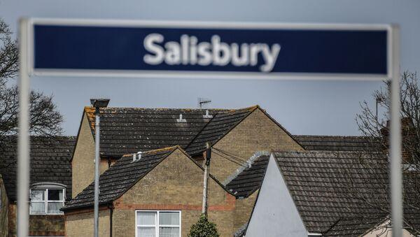 Salisbury, kde byl otráveni Sergej Skripal se svou dcerou Julií - Sputnik Česká republika
