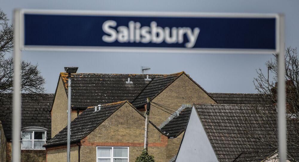 Město Salisbury ve Velké Británii, kde byli otráveni Skripálovi