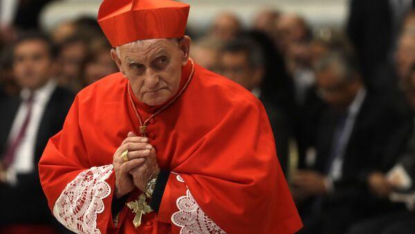 Kardinál Ernest Troshani Simoni. Ilustrační foto - Sputnik Česká republika