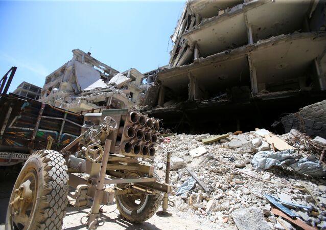 Dúma. Sýrie. Ilustrační foto