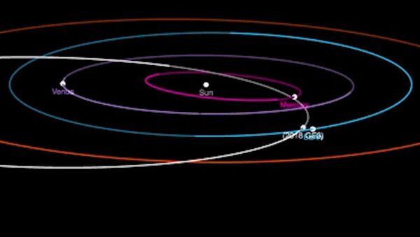 Asteroid o rozměru fotbalového hřiště se přiblížil těsně k Zemi - Sputnik Česká republika