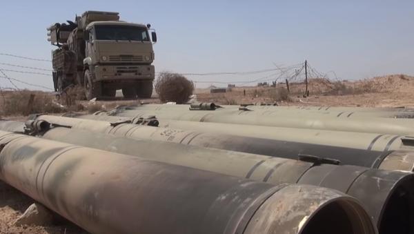 V Sýrii byl poprvé zpozorován raketový Strelec - Sputnik Česká republika