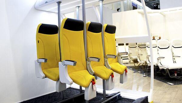Křesla Skydiver 2.0 společnosti Aviointeriors - Sputnik Česká republika