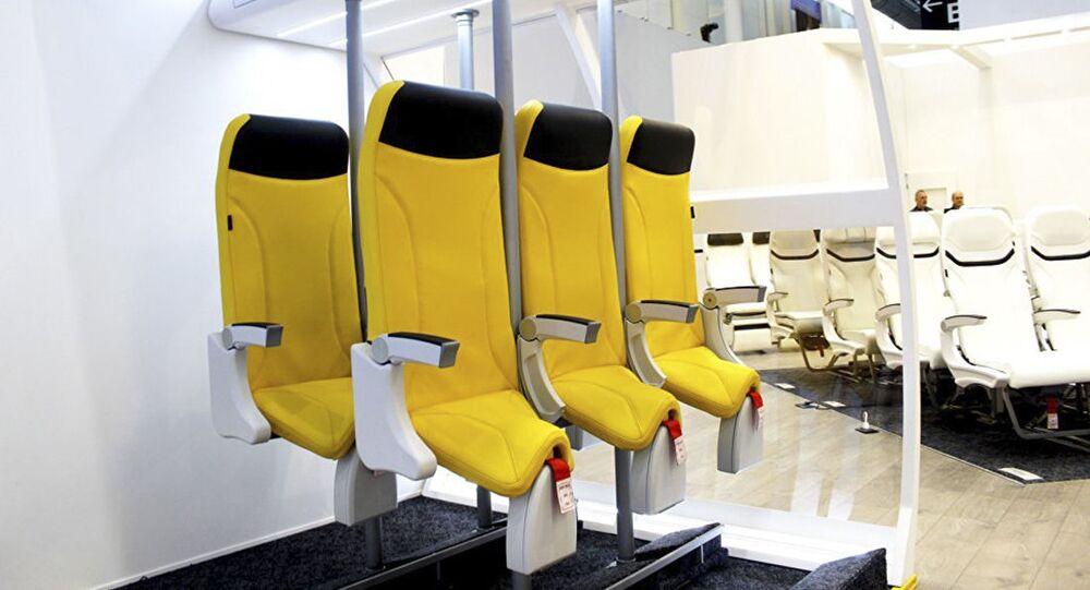 Křesla Skydiver 2.0 společnosti Aviointeriors