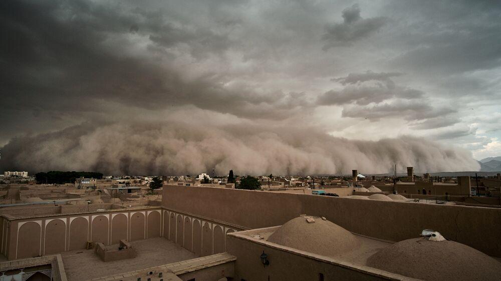 Písečná apokalypsa v Íránu