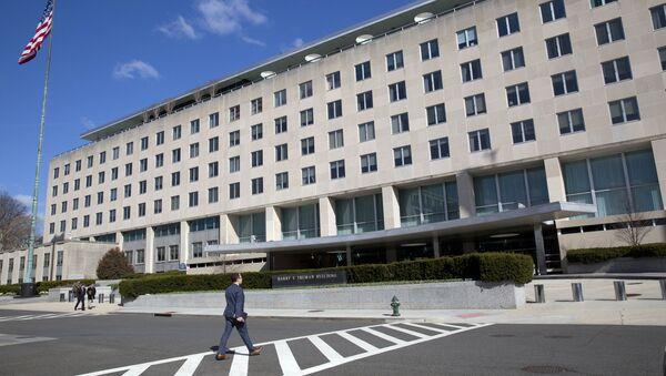 Budova amerického ministerstva zahraničních věcí ve Washingtonu - Sputnik Česká republika