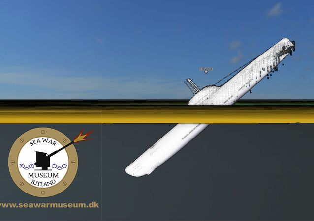 Hitlerová ponorka U-3523 byla objevena nedaleko od dánského pobřeží