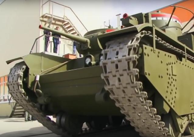 Na Uralu restaurovali nejmocnější tank světa