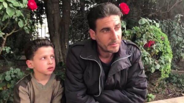 Syrský chlapec - Sputnik Česká republika