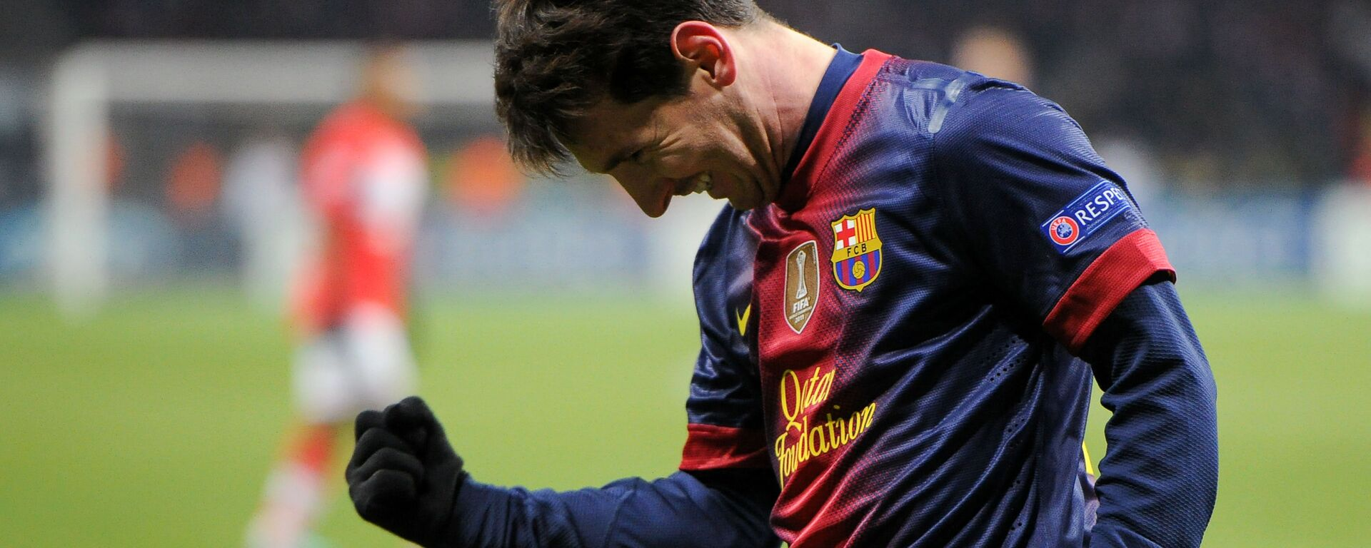 Hráč Barcelony Lionel Messi - Sputnik Česká republika, 1920, 05.08.2021