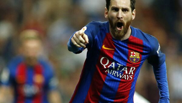 Hráč Barcelony Lionel Messi - Sputnik Česká republika