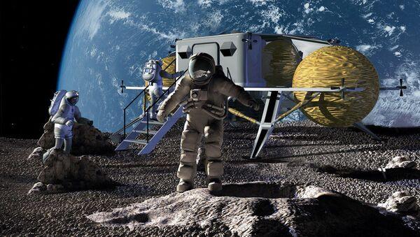 Člověk na Měsíci - Sputnik Česká republika