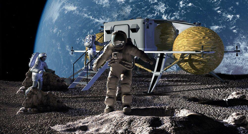 Člověk na Měsíci (ilustrační foto)