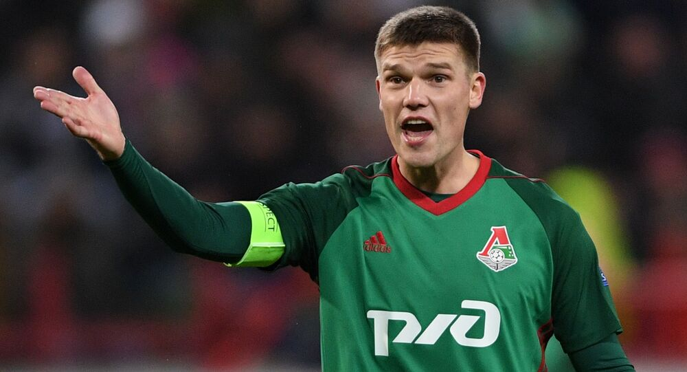 Záložník moskevské Lokomotivy Igor Děnisov