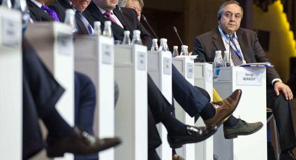 Jaltské mezinárodní ekonomické fórum. Ilustrační foto