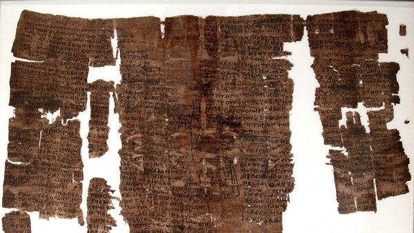 Starověký egyptský papyrus - Sputnik Česká republika