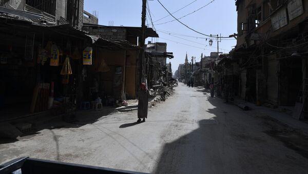 Dúma, Sýrie - Sputnik Česká republika