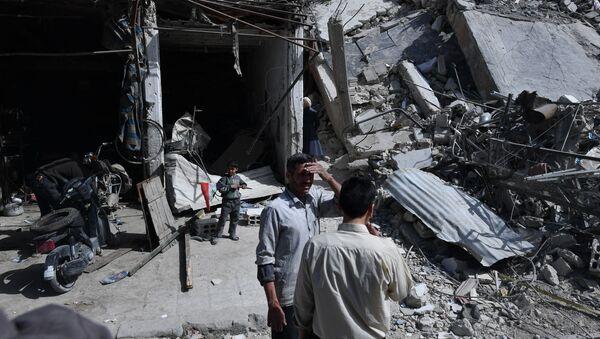 Dúma, předměstí Damašku - Sputnik Česká republika