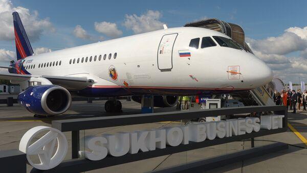 SSJ100 - Sputnik Česká republika