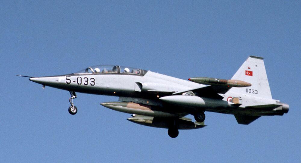 Turecká stíhačka F-5B