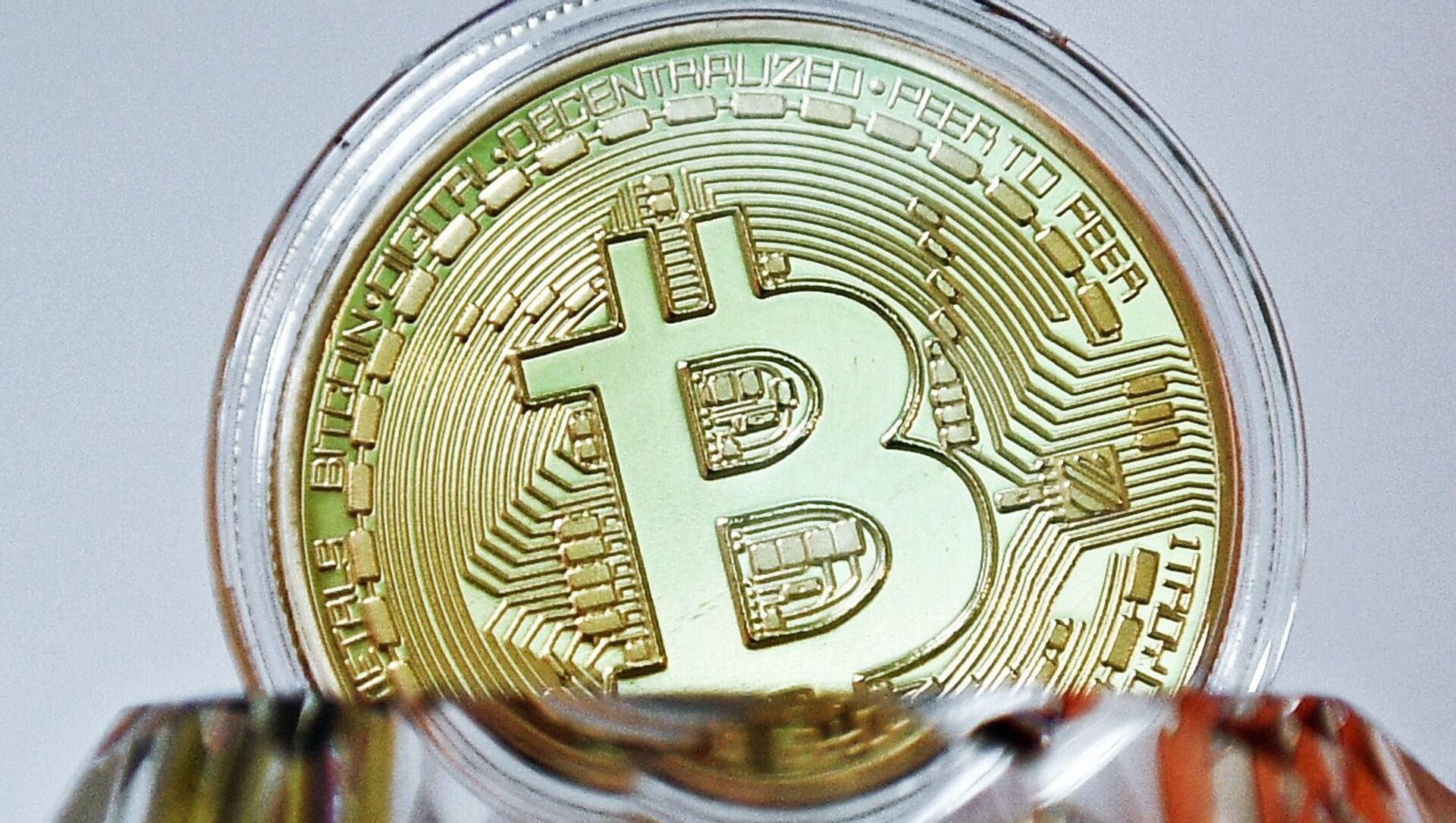 Bitcoin - Sputnik Česká republika, 1920, 16.02.2021
