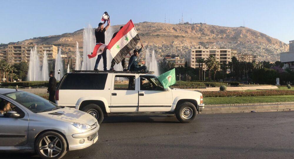 Syřané v Damašku. Ilustrační foto