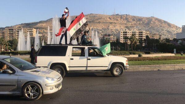 Syřané v Damašku. Ilustrační foto - Sputnik Česká republika