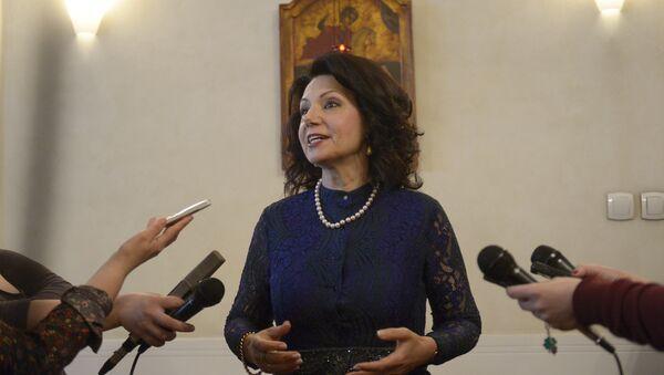 Poslankyně srbského parlamentu, bývalá velvyslankyně Srbska v Itálii, Sanda Raškovičové-Ivičová - Sputnik Česká republika