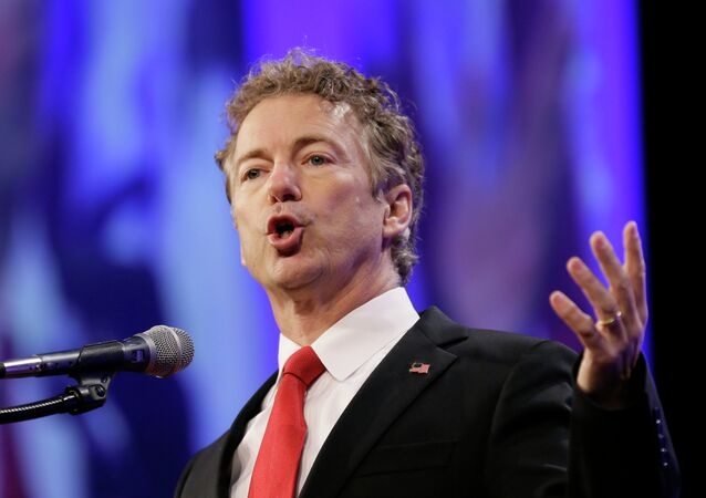 Člen výboru amerického Senátu pro mezinárodní záležitosti republikán Rand Paul