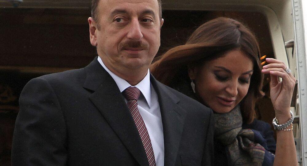 Prezident Ázerbájdžánu Ilham Alijev