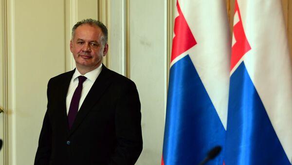 Slovenský prezident Andrej Kiska - Sputnik Česká republika