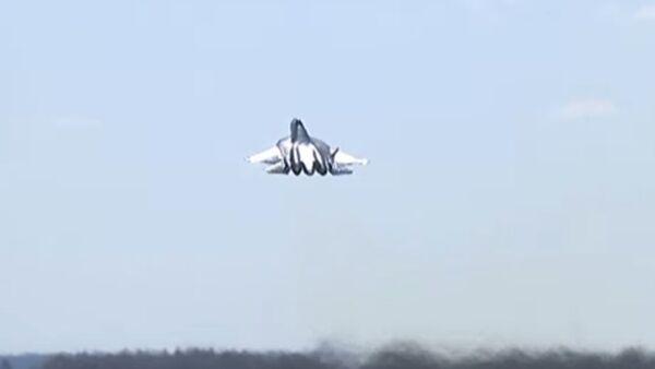 Byla natočena příprava Su-57 na přehlídku vítězství - Sputnik Česká republika