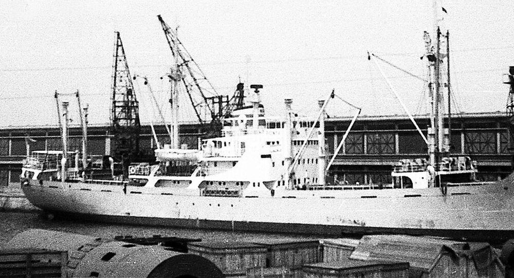 Československá loď Pionýr, přístav Constanța, 1961